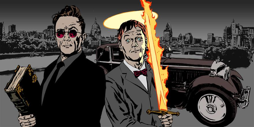 Haven't listened to Good Omens yet? You have 7 days before it drops off iPlayer. http://t.co/ydujrlPOXF @neilhimself http://t.co/E6QVbqMNC4