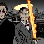 RT @BBCRadio4: Haven't listened to Good Omens yet? You have 7 days before it drops off iPlayer. http://t.co/ydujrlPOXF @neilhimself