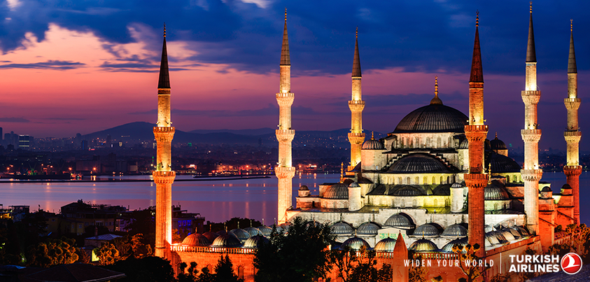 The history and beauty of Istanbul awaits you for spectacular prices starting from 26.7K TWD!