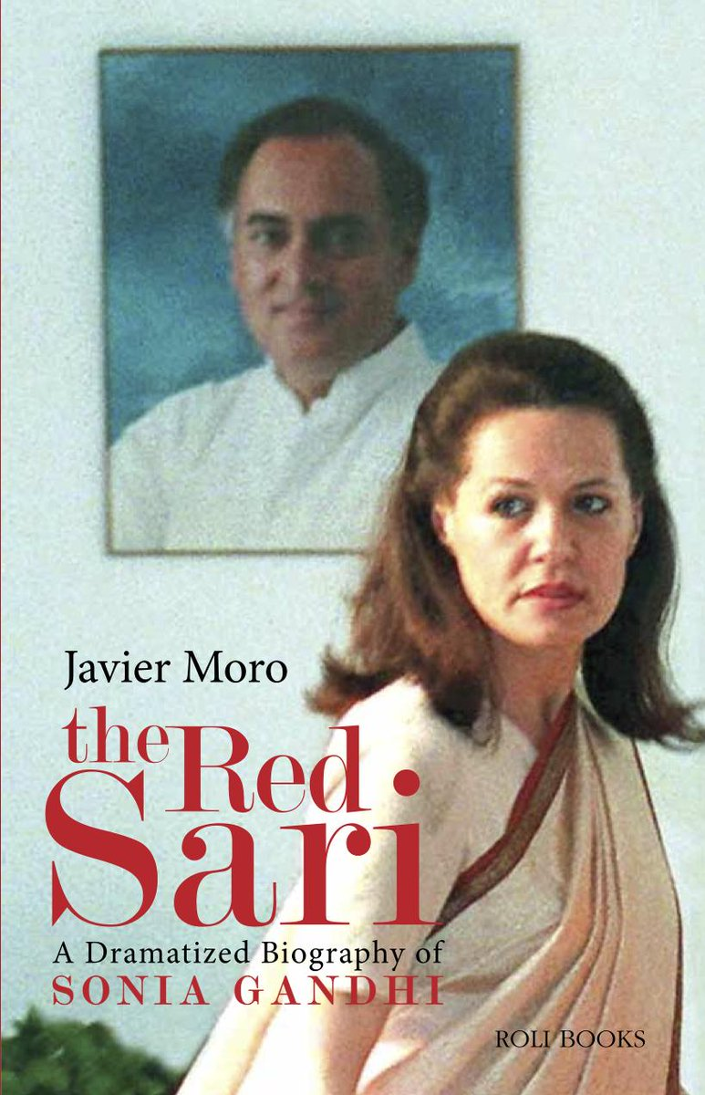 The Red Sari has now been published in India. Get your copy ! http://t.co/FO3eFYGcmO  @RoliBooks @javiermoro123 http://t.co/fnlk8nU4gY