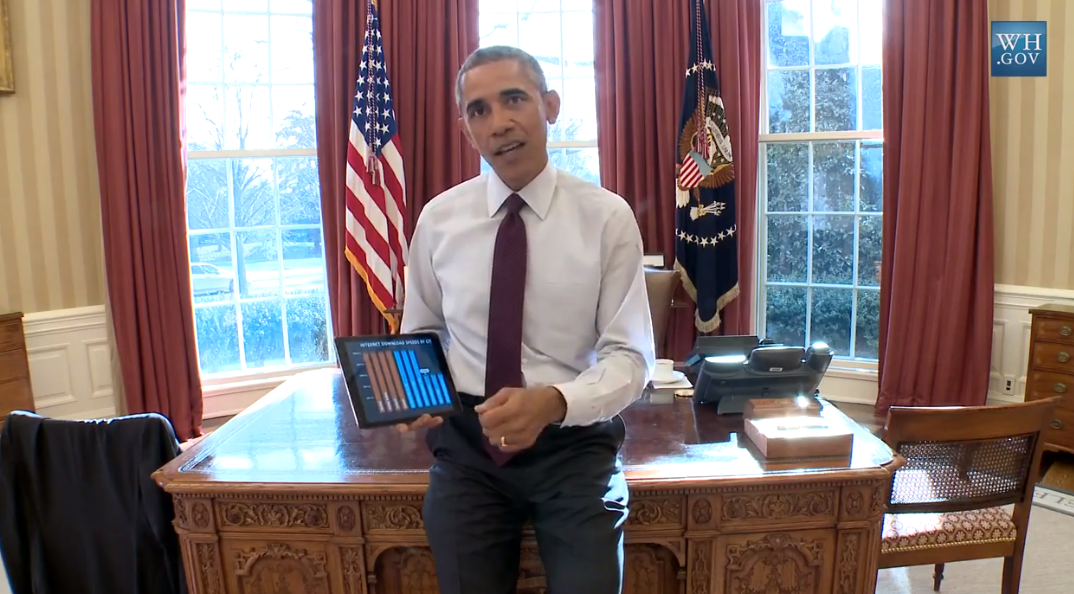 #Obama announces executive actions to give Americans 1000Mbps #internet http://t.co/qNbpD7vRsV http://t.co/RpIpcfP5OY