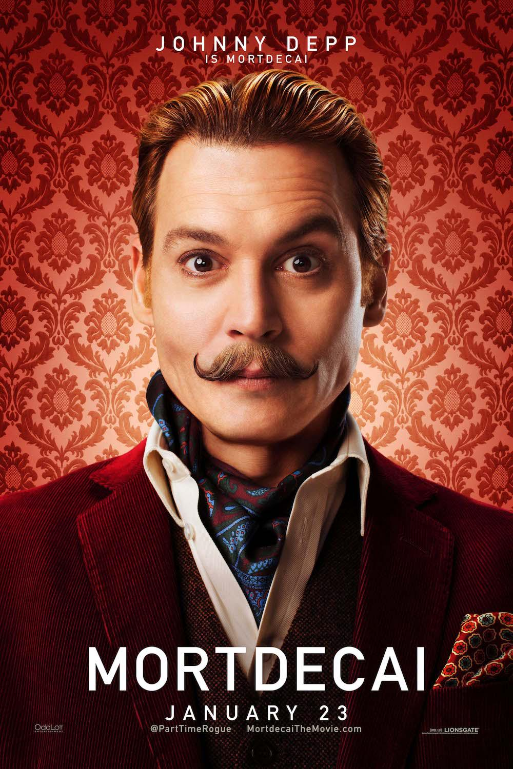 #MORTDECAI is out Jan 23 & we've got 5 pairs of tickets to the Premiere in London on Jan 19 ! RT to enter. http://t.co/5chku13P32