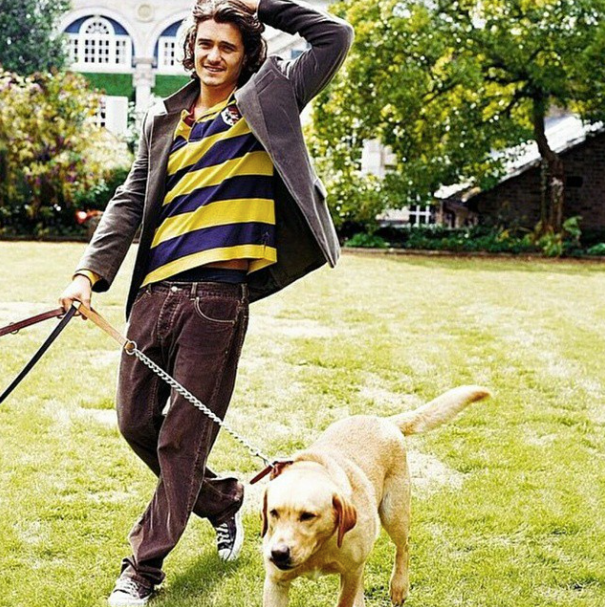 Im late! lol, But Happy 38th Birthday to this amazing gorgeous man Orlando Bloom!