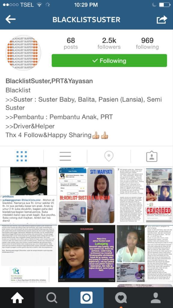 Demi keselamatan anak kita dr tangan pengasuh bengis yg gentayangan dimana2..its good to follow this Instagram http://t.co/FmHosT8y0m