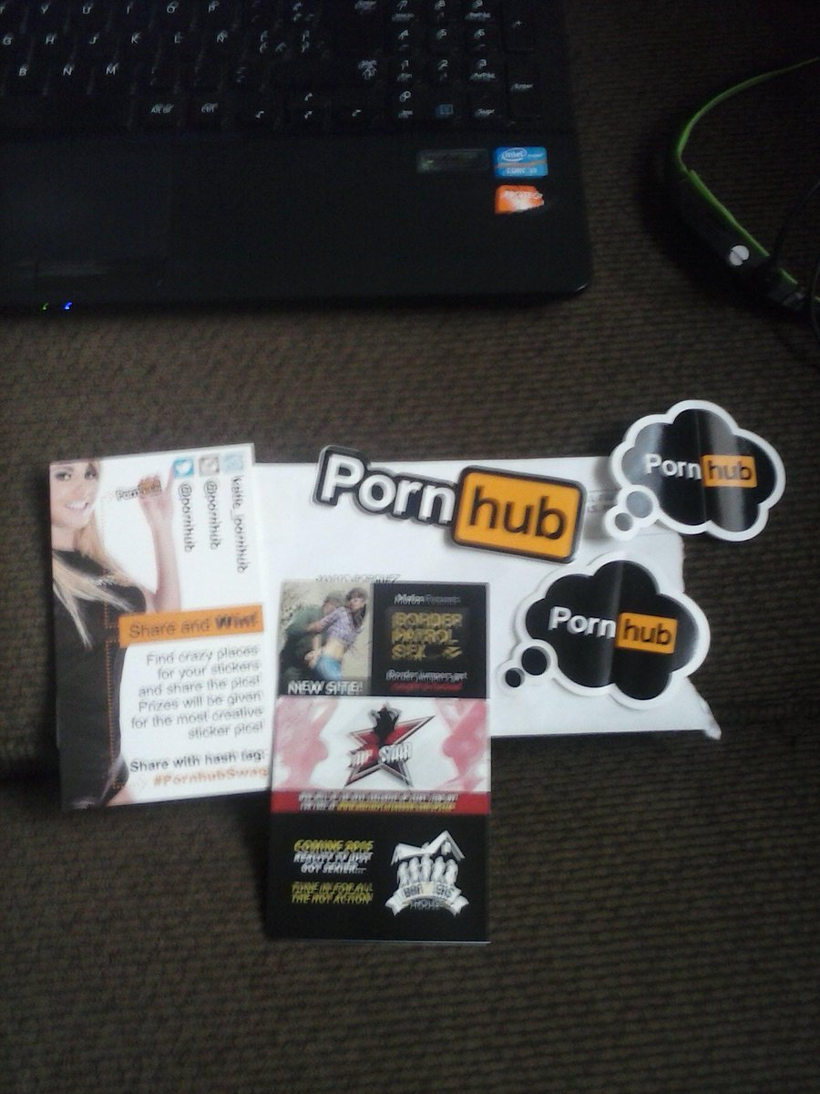RT @DarthBaston: Look what I got on my mailbox today! It took a while, but it worth the wait. <3 @Pornhub #PornhubSwag http://t.co/zXvkWfoo…