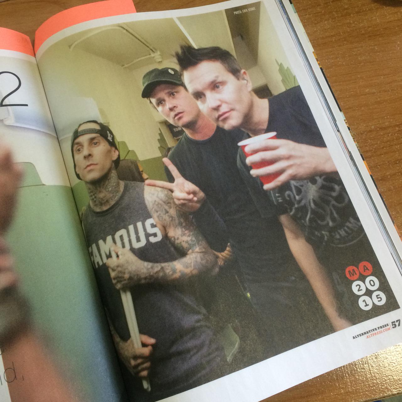 Who else is excited for a new @blink182 album this year!?!? Read more in AP319 Most Anticipated- in stores now! http://t.co/2Dx6RsqFoE