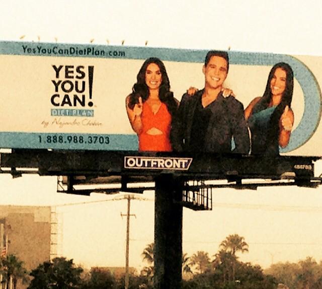 Arrancamos nuestra campaña de Billboards en  #LA #miami #Ny #Chicago @alejandrochaban @gabyespino @GalileaMontijo http://t.co/smFwrcLrEI