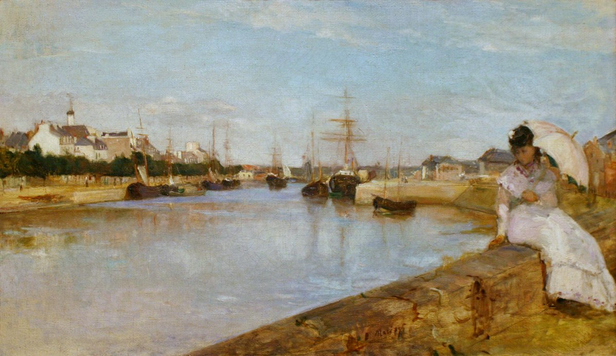 Happy birthday to Berthe Morisot, impressionist painter! Explore more on impressionism at #FIAFLibrary http://t.co/10K4gRhrGd
