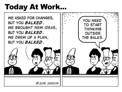 Employee engagement and creativity by @junson. Terrific new cartoon. http://t.co/jRUjYnQeMx