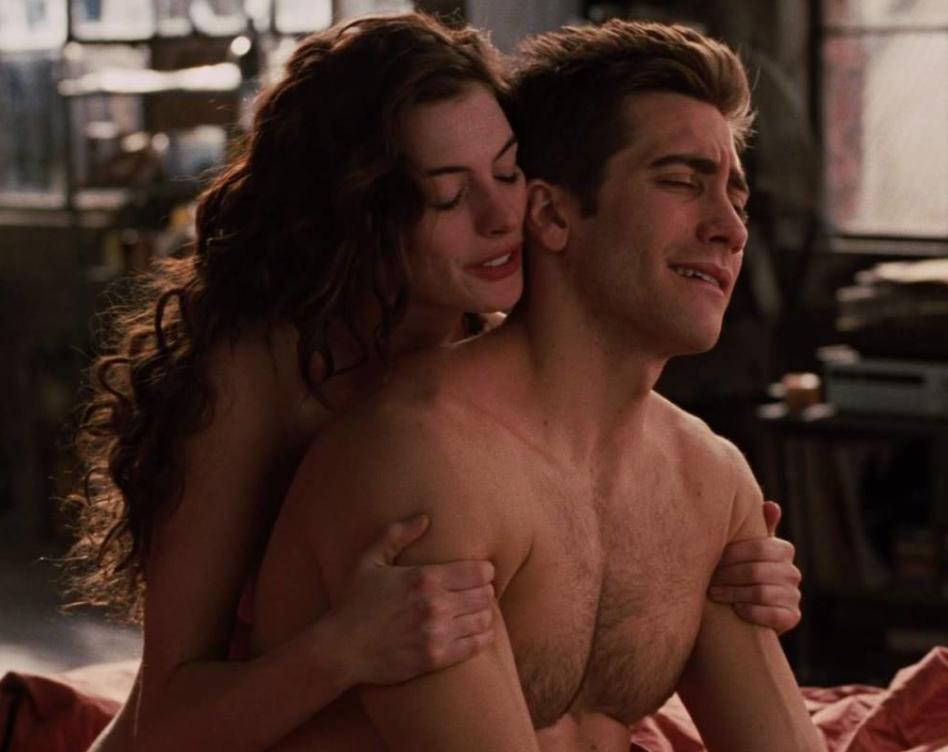 Are sex scenes real, topless scandinavian girls