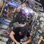RT @latimesscience: Astronauts return to @ISS_Research in stylish masks and find NO ammonia in U.S. segment: http://t.co/iq24aUBIyg http://…