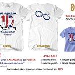 @holla_ola [PO] New 1D OTRAT shirt. Soft n dingin. Dapetin bonus kalender 1D (cek Fav) n DISKON ! https://t.co/zZdrF92ei3
