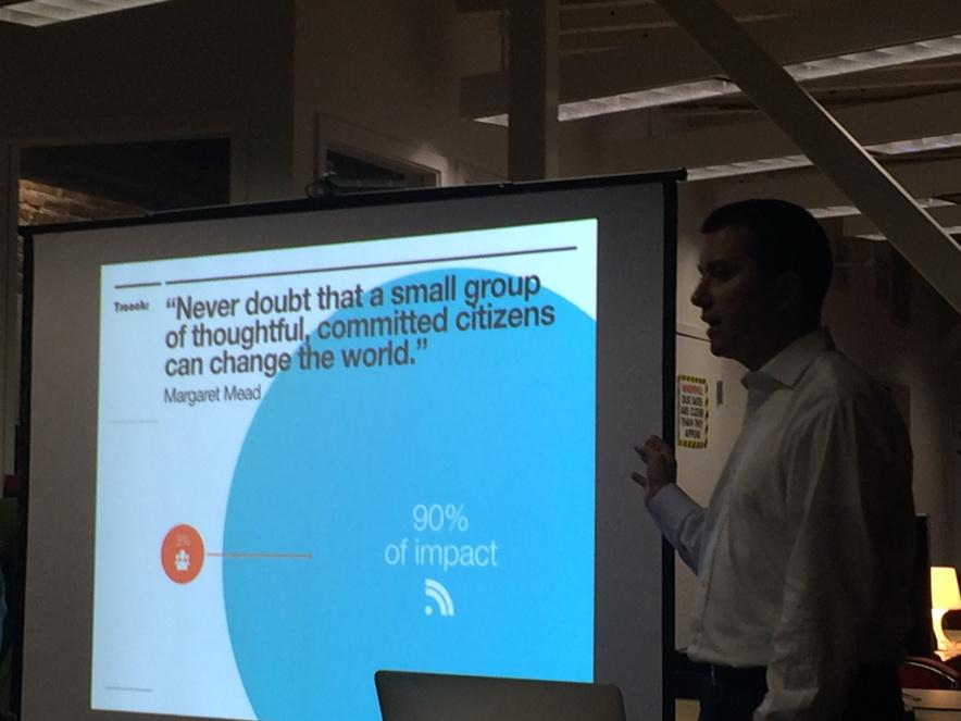 3% of people create 90% of the impact online. Influencer marketing is how you can leverage this 3%. #leancontent http://t.co/ufjs1GcQcQ