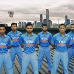 #bleedblue launched at the rooftop of @MCG earlier today. @nikecricket @BCCI. Special thanks to the staff at The G
