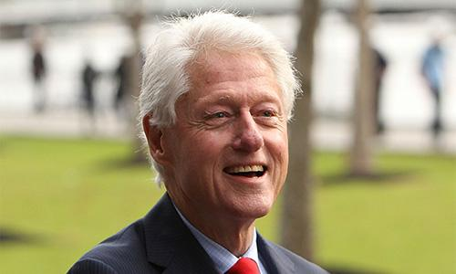 Bill Clinton: 'I think my granddaughter's the greatest thing since sliced bread'