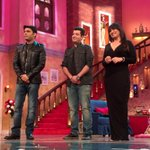 ComedyNightsWithKapil.Super fun episode;watch Dolly ki Doli promotional episode 18th Jan. And watch d film 23rd Jan. http://t.co/jF3dxXgdAW