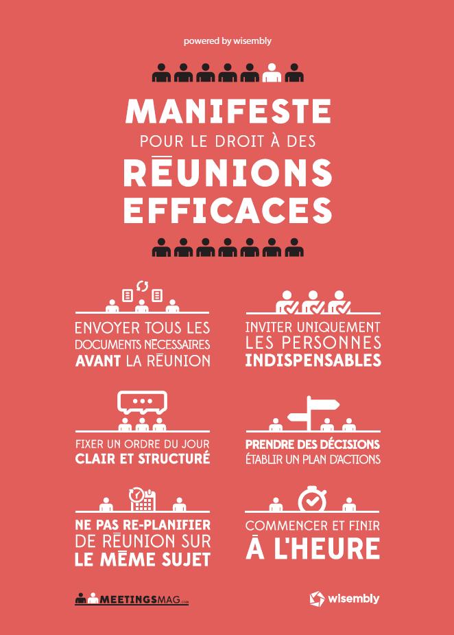 En respectant ces 6 grands principes, votre efficacité en réunion sera à son maximum ;) #reunion #entreprise http://t.co/WfgSQsyrX3
