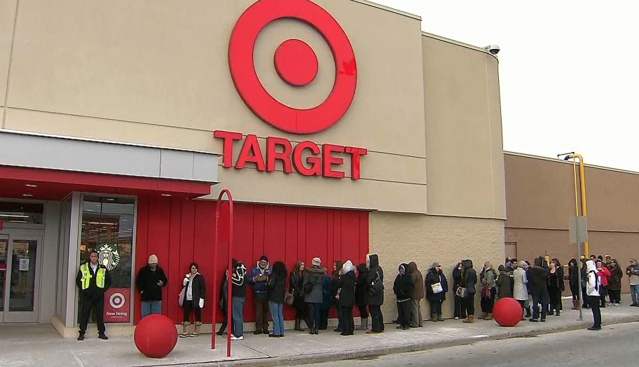 "Whoa! RT""@NewsBreaker: NEW: Target to close all of its 133 Canadian stores - @CTVToronto http://t.co/ud7UVtlm0A"""
