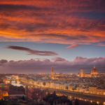 Absolutely amazing! RT @AmeeraAS: Sunrise in Florence, Italy http://t.co/14wfJ348kB