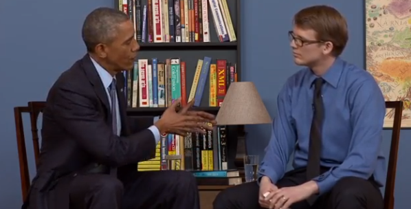 Watch: YouTube stars interview President Barack Obama live, right now!