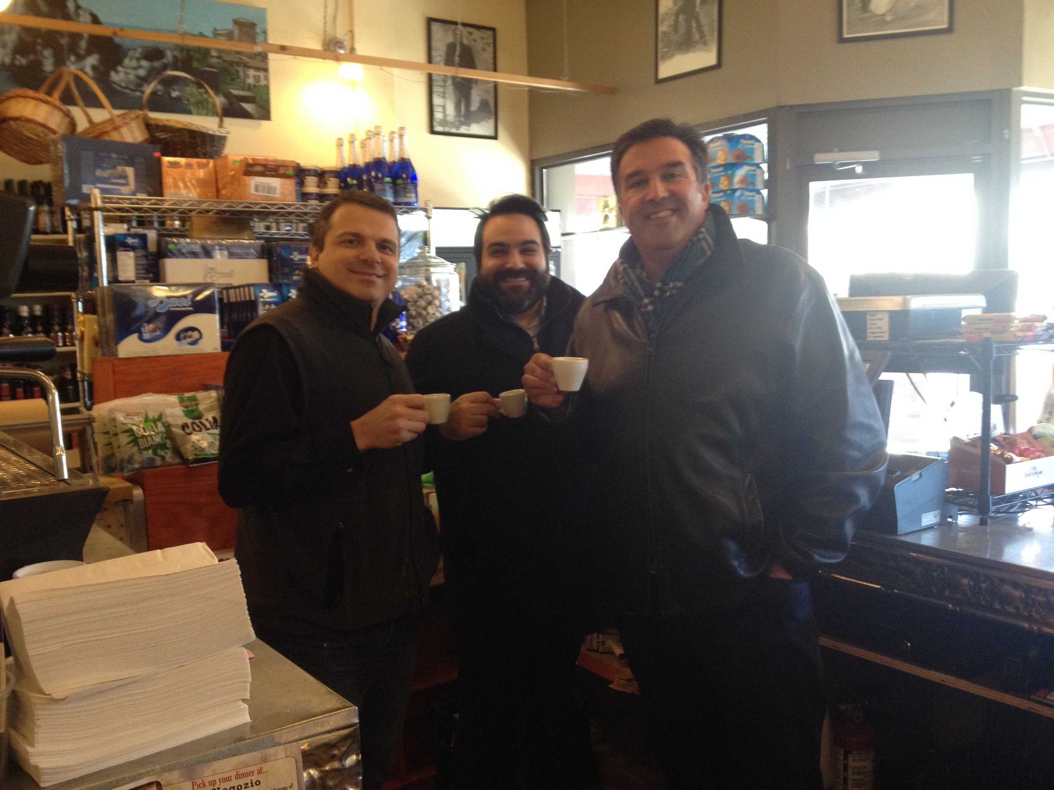 It was great to get a chance today to have an espresso with the two busiest guys in #ottawa #fiack http://t.co/XexY8WEqqA