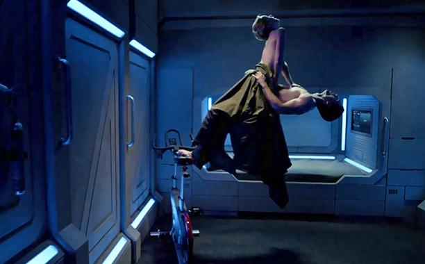 See @Syfy's new trailer for 'The Expanse,' featuring some zero gravity sex: