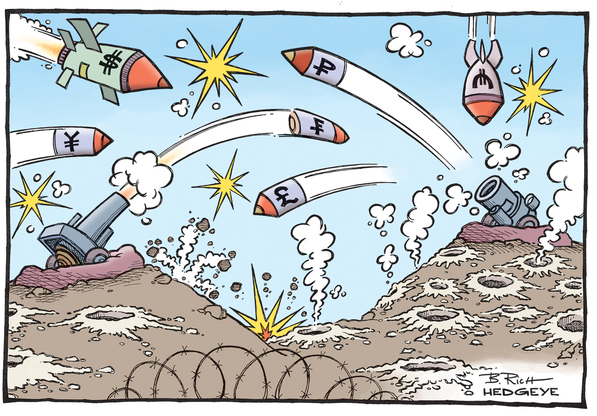 Hedgeye Cartoon of the Day #CurrencyWars  cc @JamesGRickards @KeithMcCullough http://t.co/L35lXPupOG
