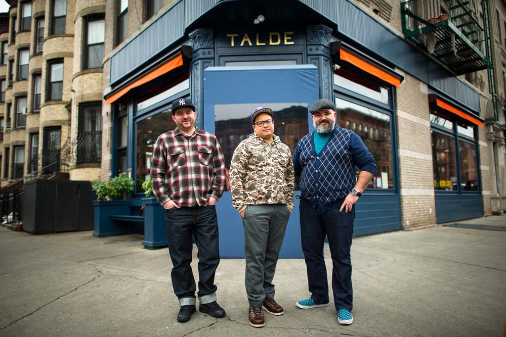 3 years ago 3 guys opened restaurant in Brooklyn @DaleTalde @dwmassoni @Gmrjohnbush @taldebrooklyn #HappyAnniversary http://t.co/OgstcHZ2I3