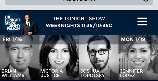 .@VictoriaJustice will be on The Tonight Show with Jimmy Fallon tomorrow night! Tune in to NBC at 11:35/10:35c. http://t.co/FK1ZoB14c2