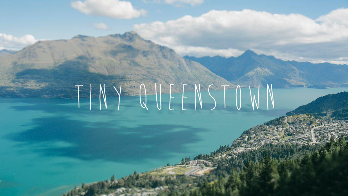 Tiny Time-Lapse of Queenstown, New Zealand. [VIDEO]