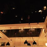 Upland ny's newest two star restaurant is beautiful   Black ceilings  copper  preserved lemons! http://t.co/1KL9cKlPpJ