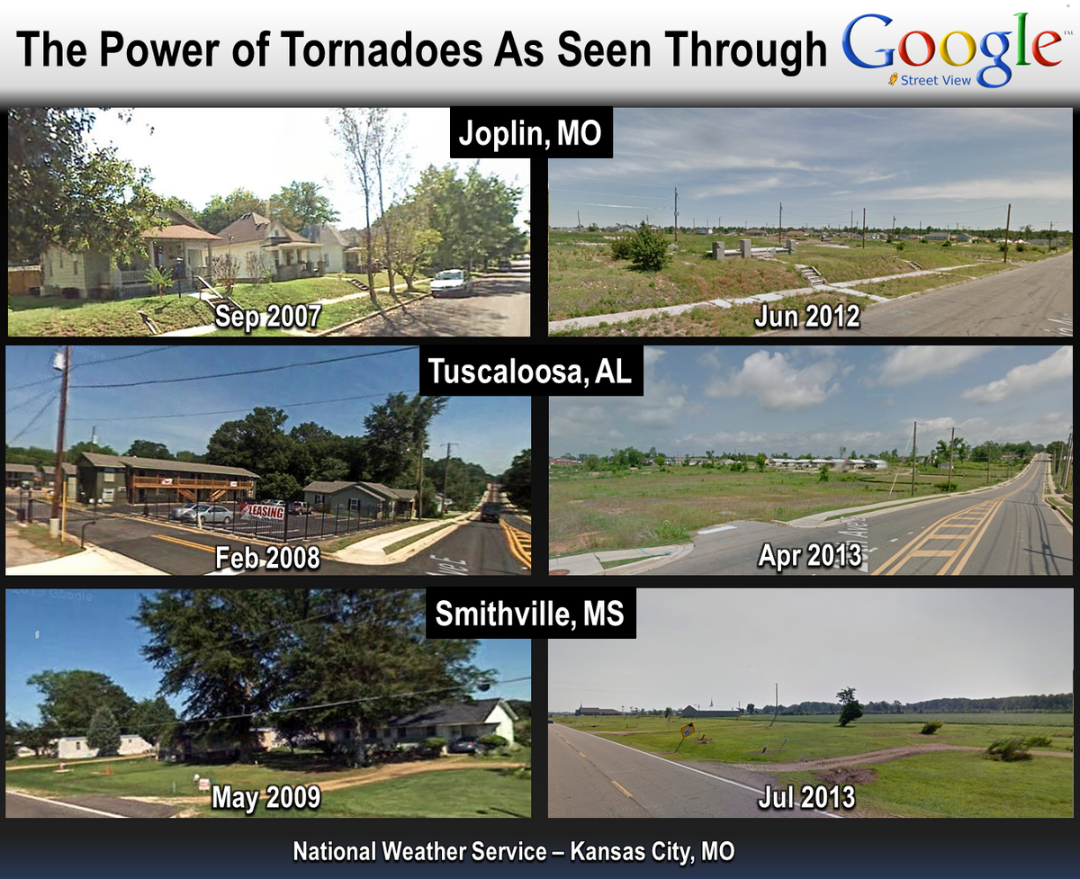 Google Street View's archive feature really lets you see the devastating consequences a tornado can have http://t.co/RTVgIH87yY