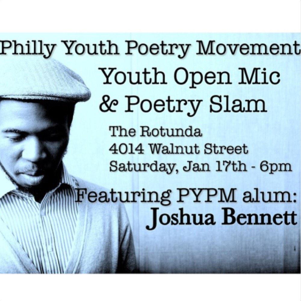 @SirJoshBennett features this #Saturday at PYPM Youth Night !! $10for adults/ $7 for youth/students with ID! http://t.co/F6yfnfDRgi