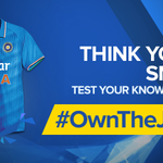 RT @StarSportsIndia: WIN a chance to own the New Team India jersey! Participate in the #OwnTheJersey Quiz today at 2 PM!