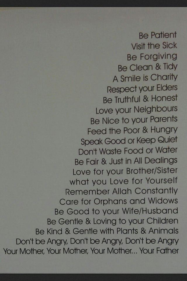 These are the teachings of #MuhammadTheMerciful #WhoIsMuhammadﷺ http://t.co/1VnrrrI6B8