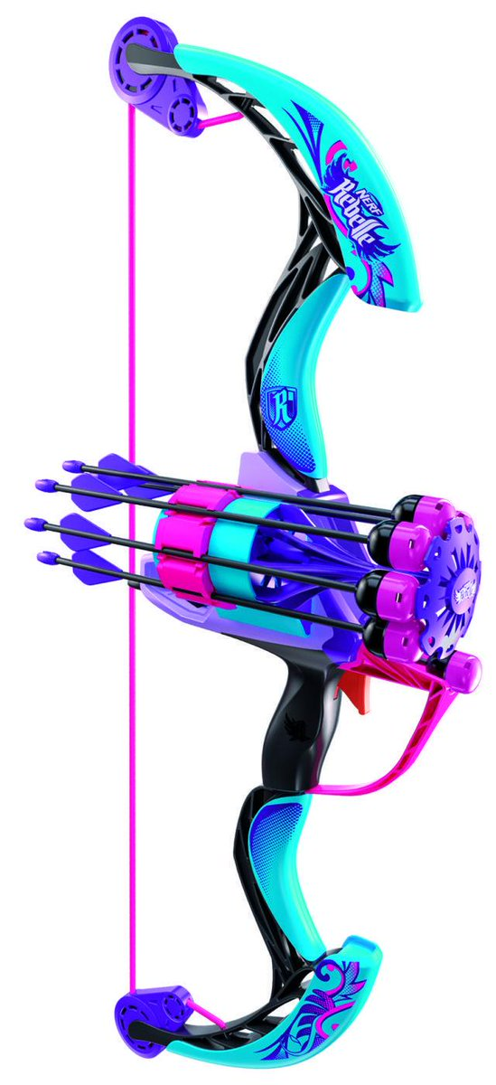 Sneak Peek at the Newest NERF Rebelle Blaster! http://t.co/zJHGo0jamo