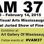 ART GALLERY OF MISSISSAUGA: *Sat/Sun* @ 12-4pm See #VAM37! FREE http://t.co/LY2v0Wt2xL @AGMengage @VisualArtsMiss http://t.co/dAogpEebx5