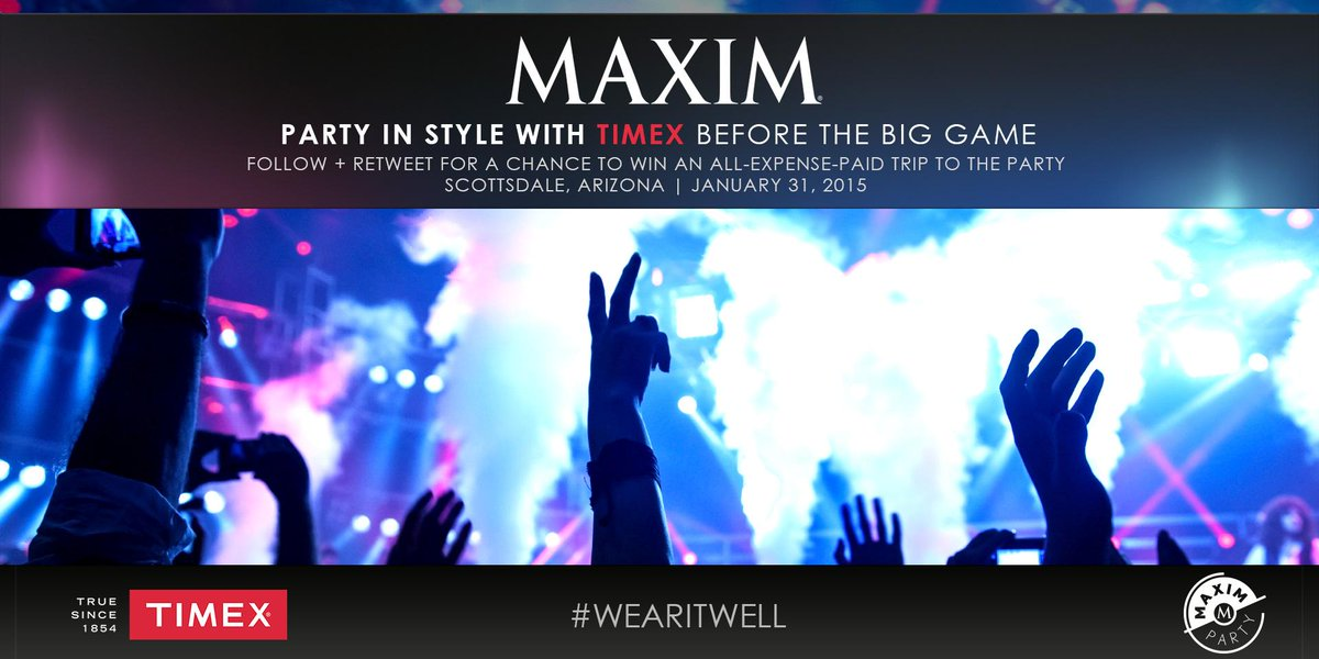 Join us and @MaximMag before the #BigGame! RT for chance to #MaximParty w/ all expenses paid! http://t.co/JH9McTITOc http://t.co/almAuB2CVd