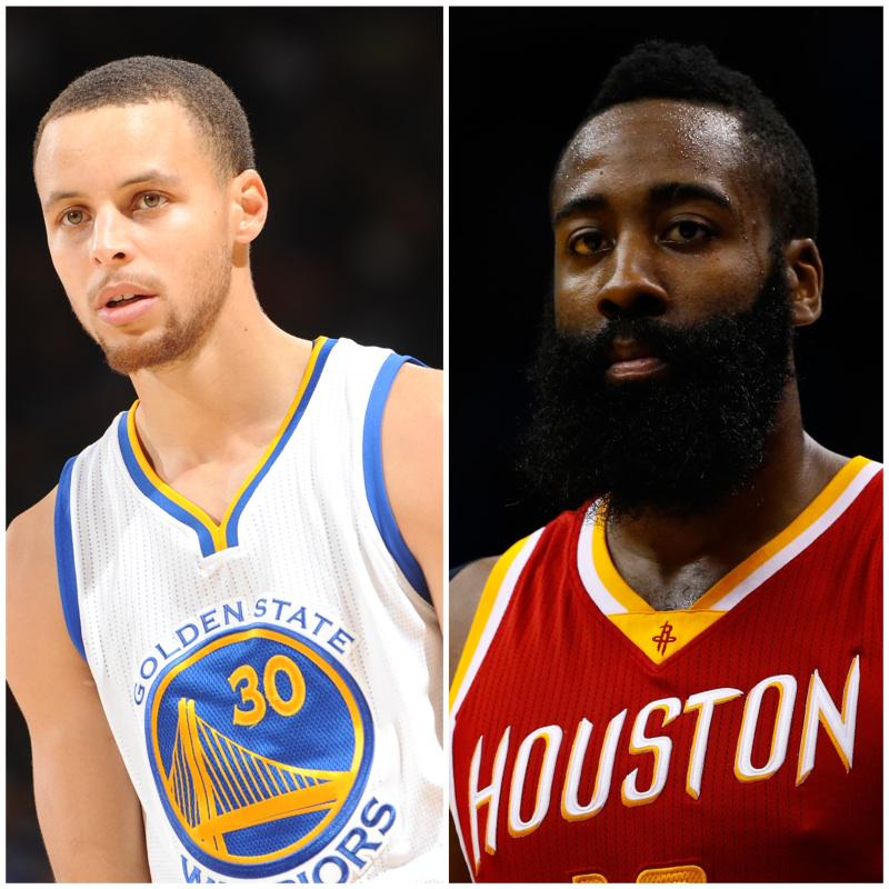 Right now, who's your front-runner for the NBA MVP?  RT for Steph Curry Favorite for James Harden http://t.co/QJRVBQZT8a