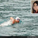 RT @DDNational: India's open water swimmer Bhakti Sharma - set a world record by swimming 1.4 miles in 52 minutes at Antarctic Ocean