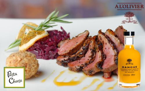 A L'Olivier Mango Fruit Vinegar pairs perfectly with duck! http://t.co/CFkzVL8T2V #foodie #healthy @Alolivier1822 http://t.co/VcyiR9inFK