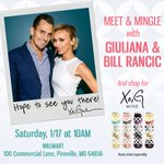 RT @XoGWine: .@GiulianaRancic & @BillRancic are coming to MISSOURI! Meet them & shop for Xo, G TOMORROW at Walmart, Pineville, MO! http://t…
