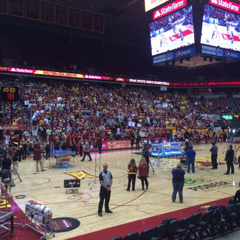 Hey @ISUMayor32 I love what you've done with this place. http://t.co/NfTTj9NX7Y
