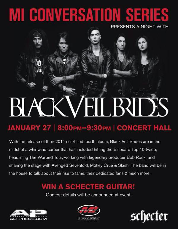 Repost this pic w/ why you deserve to see BVB @MIHollywood Series & tag #BVBconvo. 10 winners will get a pair of tix! http://t.co/SIzRjyqxxH