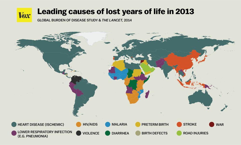 Bill Gates (@BillGates): Why do people die young? It depends on where they live: http://t.co/Yb7s5hsGvB http://t.co/VZ7EG2gw6h