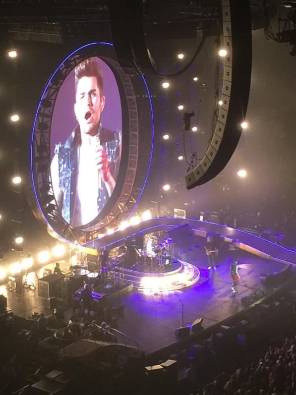 Freddie would have been so proud. Adam Lambert is incredible. @queenwillrock http://t.co/uHcRFQjv9X