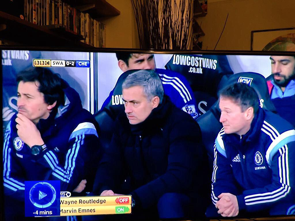 what are MOTD playing at? Costa on the bench at 2-0 when he was yet to score a goal? http://t.co/X4atMScS2F