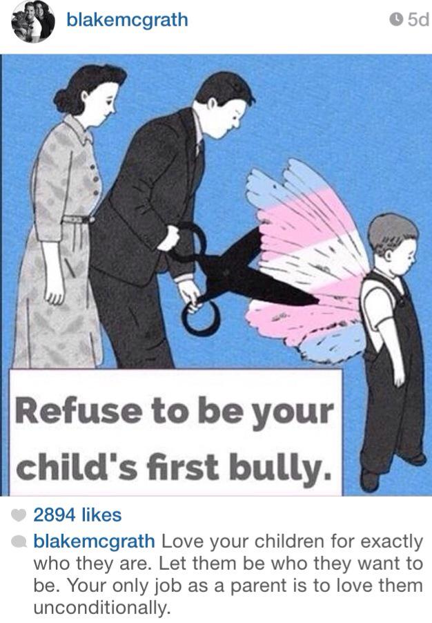 Repost-  parents please accept your kids for who they are! Saves a lot of heartache http://t.co/FechQ2JNKF