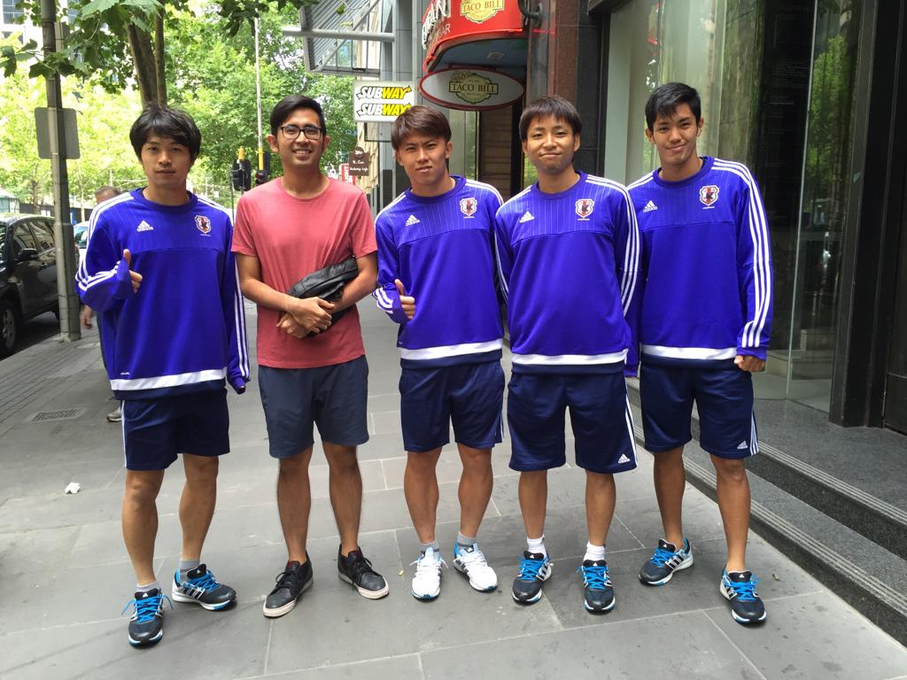 Bumped into @morigekun3, @kosuke444, @takashi73784537 and @yoshimuto18 in Melbourne today! #AC2015 @NatalieTosh http://t.co/hPDwXBEG76