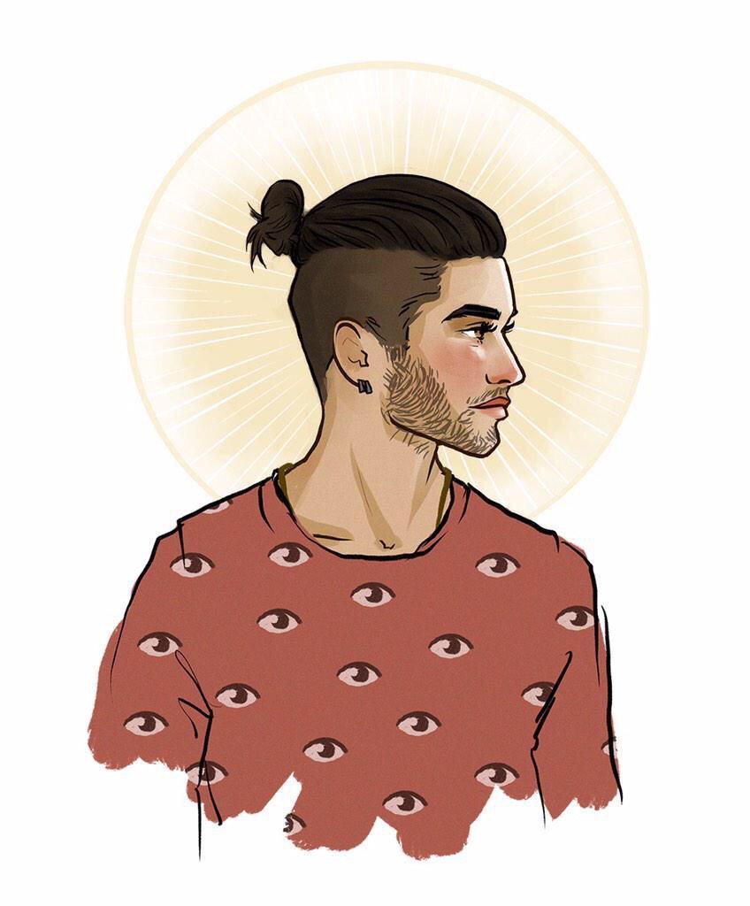 Fans Feverishly Created New Fan Art Zayn Himself Tweeted This Piece